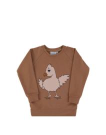 Dear Sophie: Chicken Brown Sweatshirt