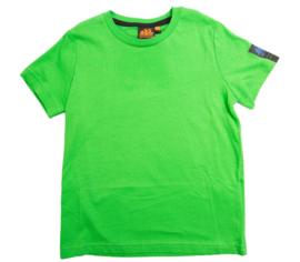 Sundek: Shirt groen/logo achterkant