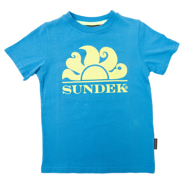 Sundek: Simeon tshirt blauw