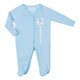 Baby deLuxe: Pyjama pakje katoen - licht blauw