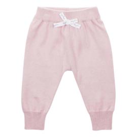 Baby de Luxe gebreid broekje roze