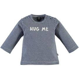 Babyface: Longsleeve  Hug Me gestreept Royal blue