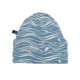 Noeser: Hatti Wave AOP Blue