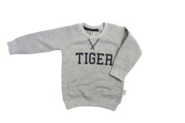 Tibot+Bodil: Trui Tiger grey melange