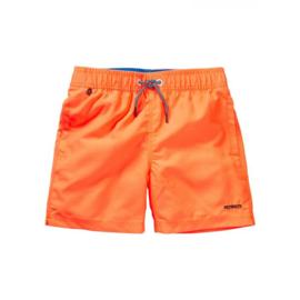 Petrol: Zwembroek neon oranje