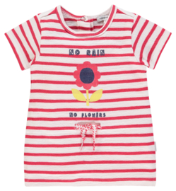 Noppies: Jurkje stripe No rain, no flowers