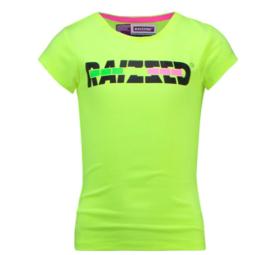 Raizzed: T-shirt Venice - Sparkle Lime