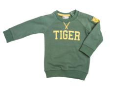 Tibot+Bodil: Trui Tiger green