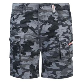Retour Jeans: korte broek Rutger- grijs