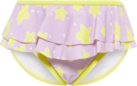 Name It: Bikini Broekje Paars gele sterren