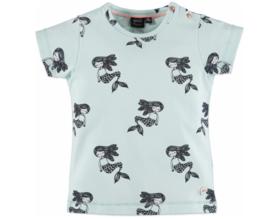 Babyface: T-shirt Zeemeermin - Soft mint