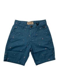 Petrol: Jongens shorts icecream - Raf Blue