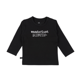 Noeser: Bas shirt wanderlust black magic