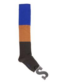 Imps&Elfs: Sokken Grijs/Oranje/Blauw - 3160880