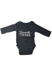 Baby Deluxe: Romper Incredibly Tough - Navy gemeleerd