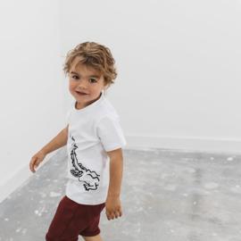 Noeser: Sepp T-shirt croc white