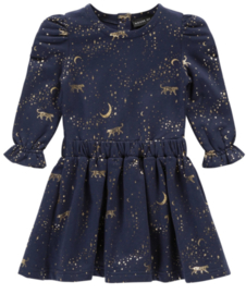 House of Jamie: Puff Shoulder Dress - Stargazer