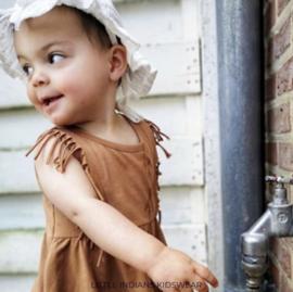 Little Indians: Dress brown