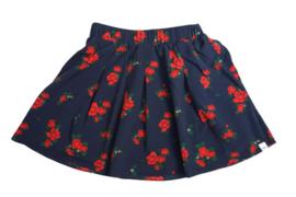Nik & Nik: Corry Flower skirt/ dark blue