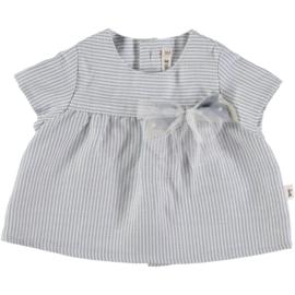 Petit Indi: Blouse Stripes Blue 10.02