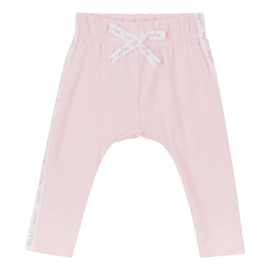 Baby deLuxe: Broekje met sierlint - pink BDL05