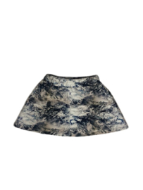 Little man happy:  Mountain high flared skirt