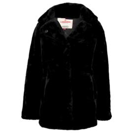 Vingino teddy jas - zwart