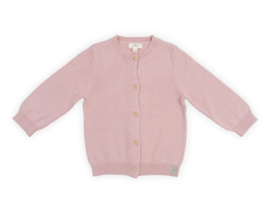 Jollein: cardigan pretty knit blush pink
