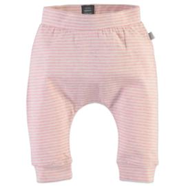 Babyface: Gestreept Broekje - Rose Pink