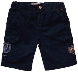 Petrol: Cargo shorts - blauw