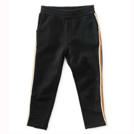 Little Label: Jogging pants striped black