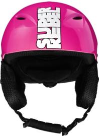 SuperRebel: Ski Helmet Neon Pink