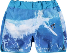 Name It: Jongens ZAKIRS Shorts Box - Hawaiian Ocean