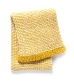 Imps&Elfs: Gebreide sjaal geel - 3160043
