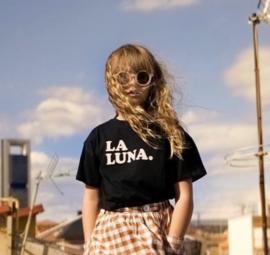 Little Man Happy La Luna t-shirt - zwart