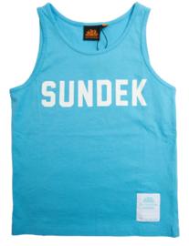 Sundek: Tanktop licht blauw