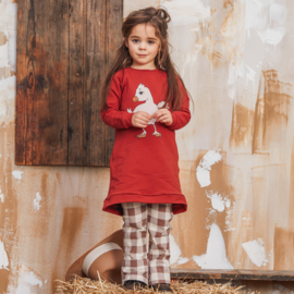 Dear Sophie:  Chicken Tunic Red