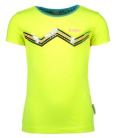 B.Nosy: T-shirt  Zigzag - Geel