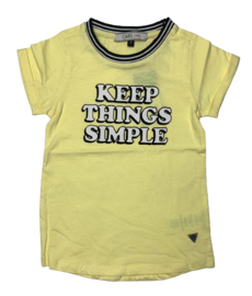 Cars Jeans: T-shirt Sienna - Yellow
