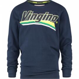 Vingino: Jongens longsleeve Jomio donkerblauw