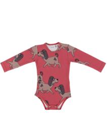 Dear Sophie: Doggie Red Bodysuit