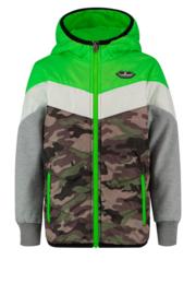 Vingino: Jongens Zomerjas - Tamsiro Jacket - Neon Green