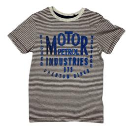 Petrol: Jongens T-shirt Gestreept - 390