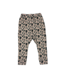 Little Man Happy: Stones Sweatpants - Taupe