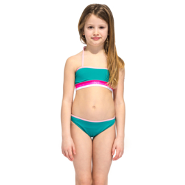 Sundek: mini holmes bikini/blue island