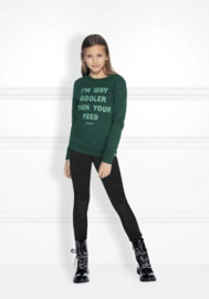 Nik & Nik: Feed Sweater - Dark green