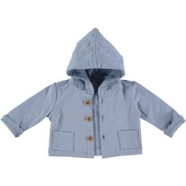 Petit Indi: Jacket Capuchon - Blauw