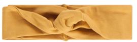 House of Jamie: Turban Headband Honey Mustard