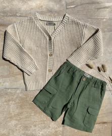 Wheat: Cargo Shorts Ivan - Sage