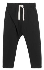 House Of Jamie: Crossover Pants - Black